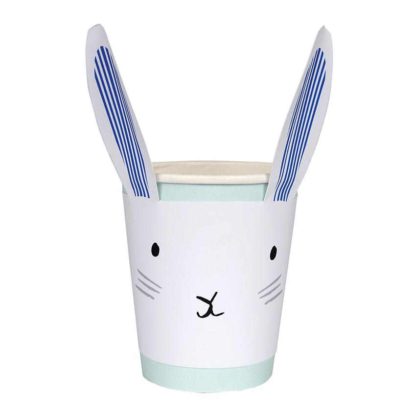 Bunny Party Cups Tabletop Meri Meri