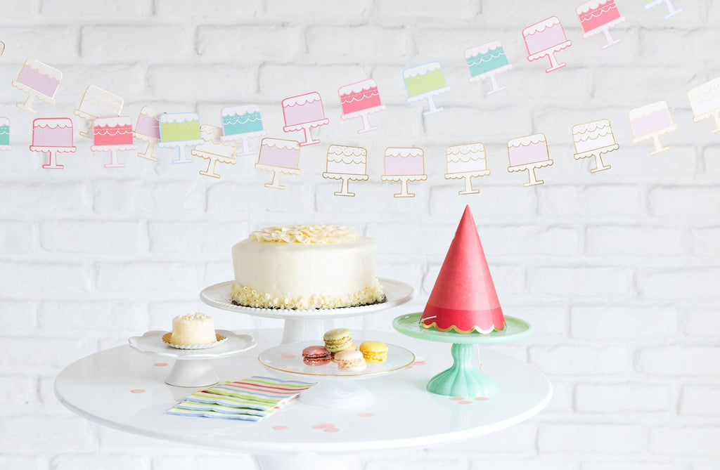 Cake Banner Decor My Mind's Eye