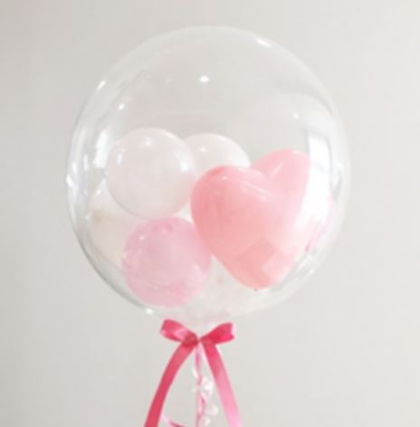Clear Deco Bubble Balloon Balloons Rainbow Balloons