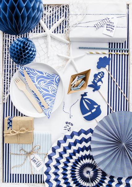 Deep Blue Sea Napkins (Lg) Tabletop Party Deco