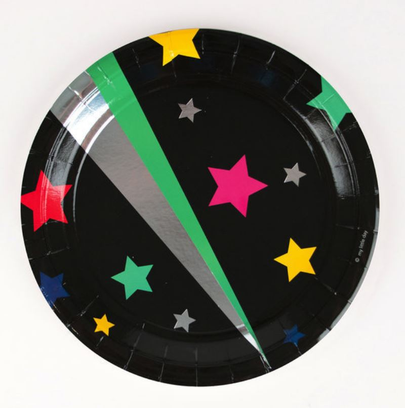 Disco Stars Plates Tabletop My Little Day