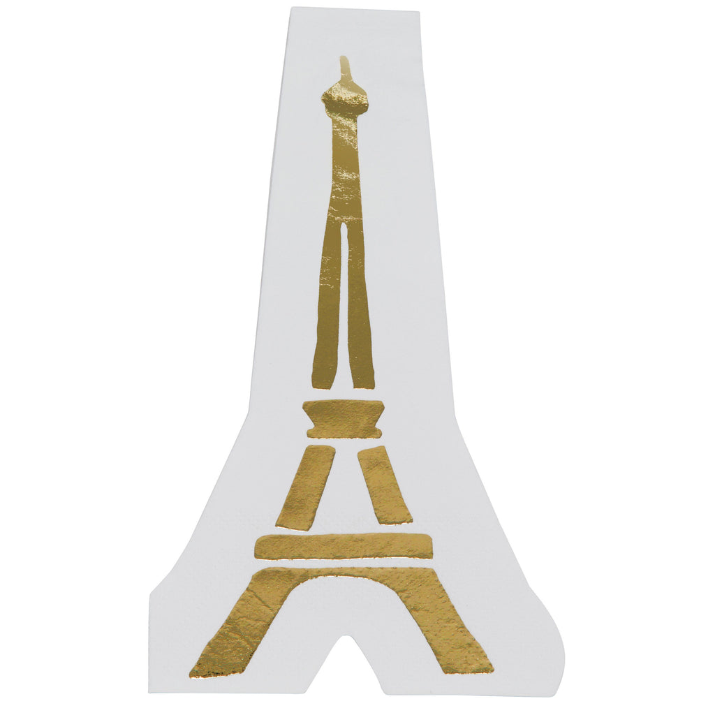 Eiffel Tower Napkins Tabletop Slant