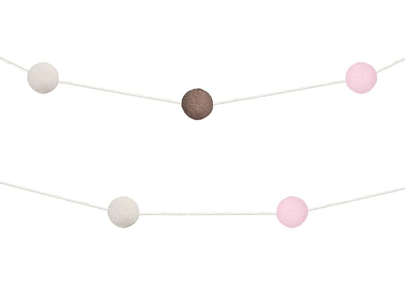 Felt Ball Pom Pom Garland Decor Party Deco