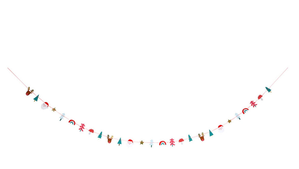 Festive Icons Garland Decor Meri Meri