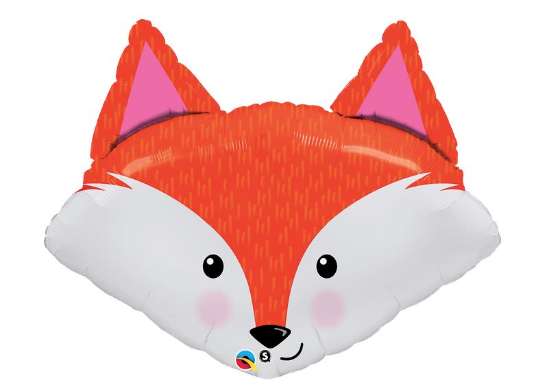 "Fox Face Shaped Balloon 33"" Balloons Bargain Balloons"