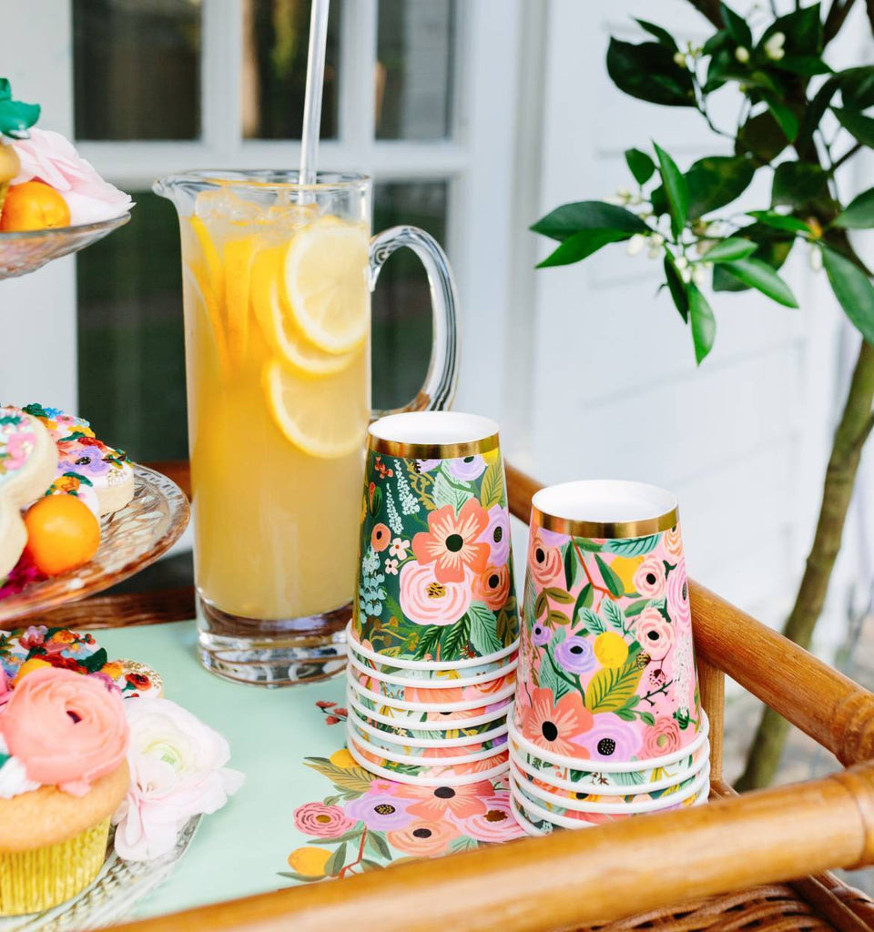 Garden Party Cups Tabletop Rifle Paper Co.