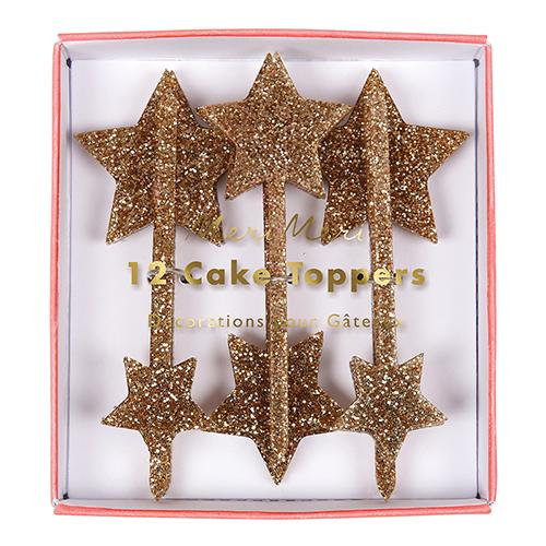 Gold Star Toppers Tabletop Meri Meri