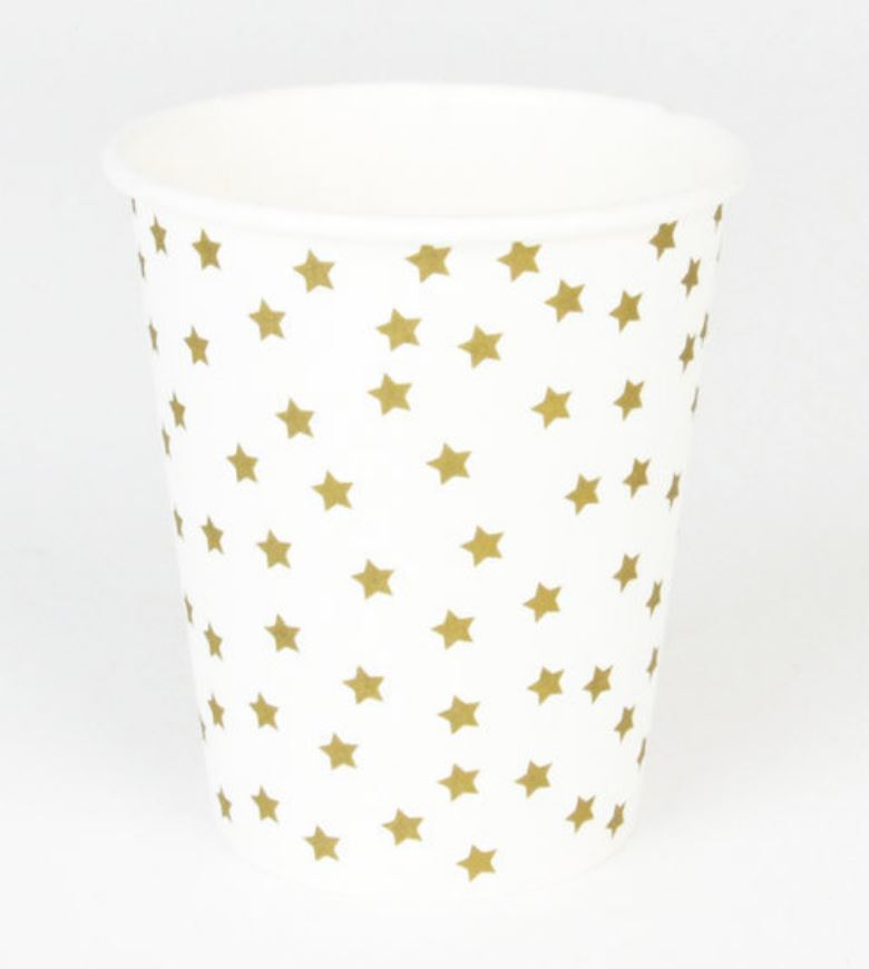 Golden Star Cups Tabletop My Little Day