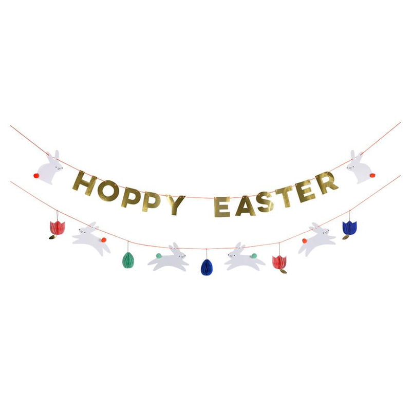 """Hoppy Easter"" Garland Decor Meri Meri"