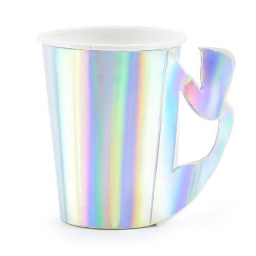 Iridescent Mermaid Tail Cups Tabletop Oh Happy Day