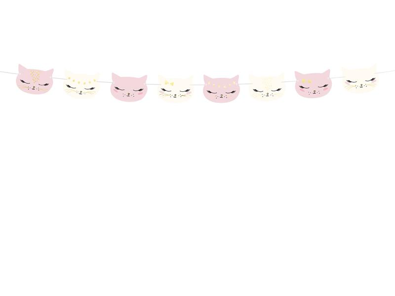 Kitty Cat Garland Decor Party Deco