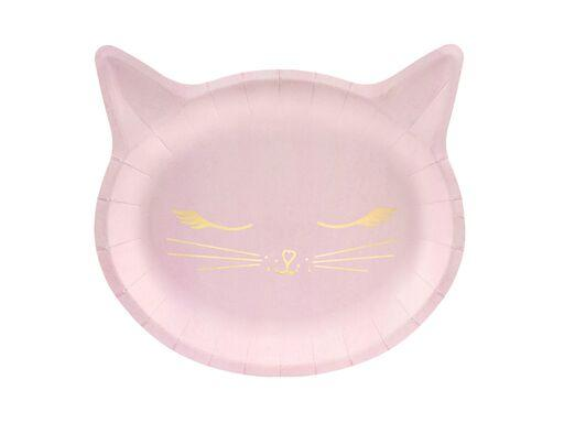 Kitty Cat Plates (Sm) Tabletop Party Deco