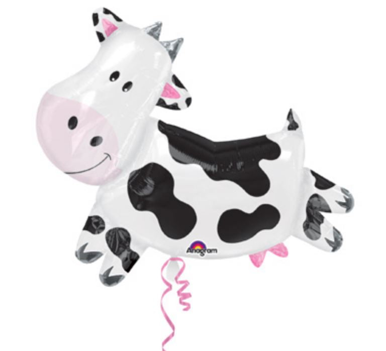Mylar Cow Balloon Balloons Anagram
