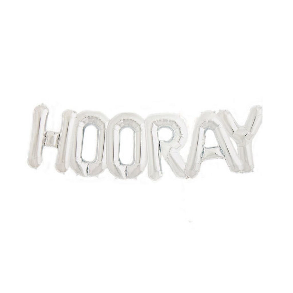 "Mylar ""HOORAY"" Balloon Kit Balloons Northstar"