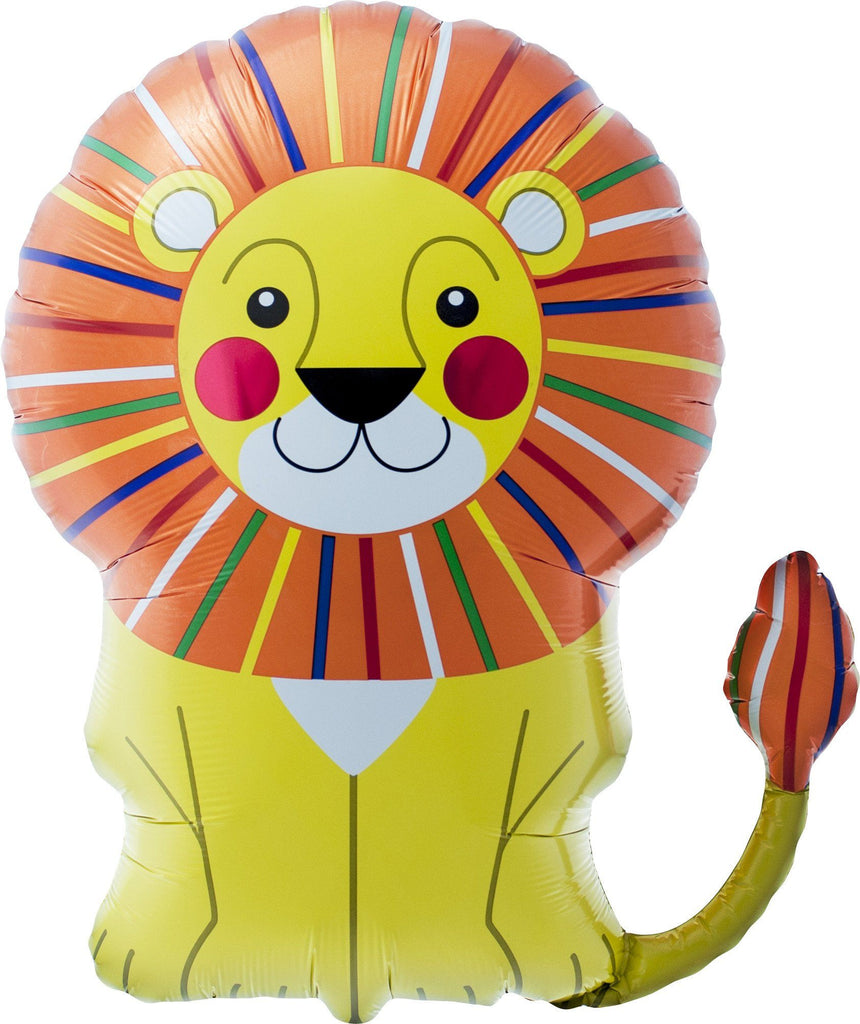 Mylar Lion Balloon Balloons Northstar