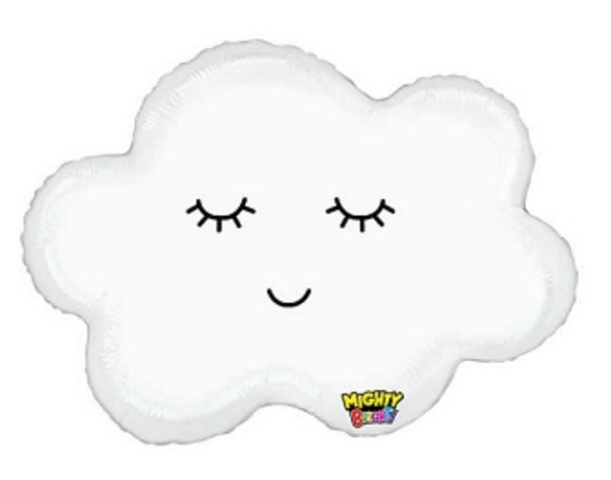 Mylar Sleepy Cloud Balloon Balloons MSR Balloons