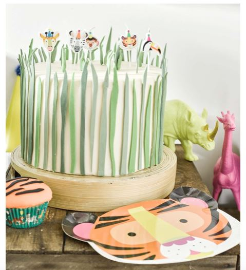 Party Animals Candles Decor Talking Tables