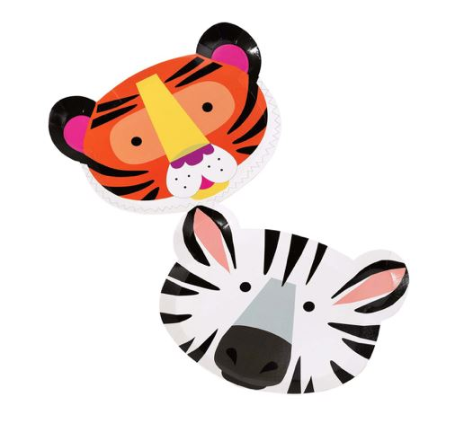 Party Animals Face Plates Tabletop Talking Tables
