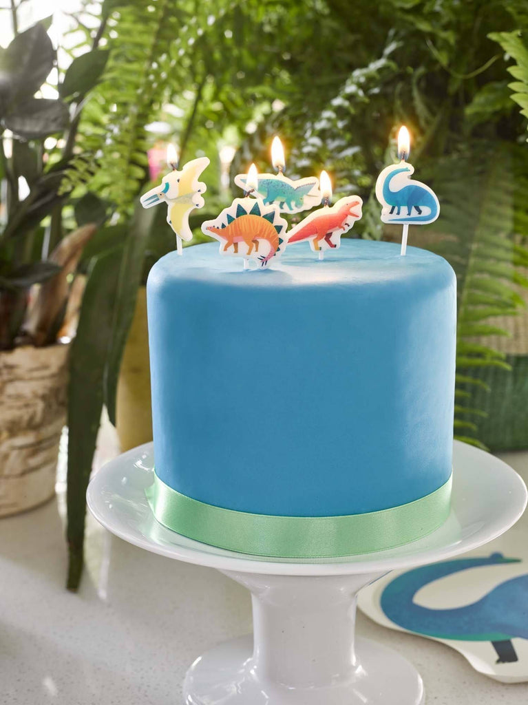 Party Dinosaurs Candles Cake & Cupcake Talking Tables