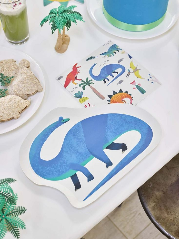 Party Dinosaurs Napkin (Lg) Tabletop Talking Tables