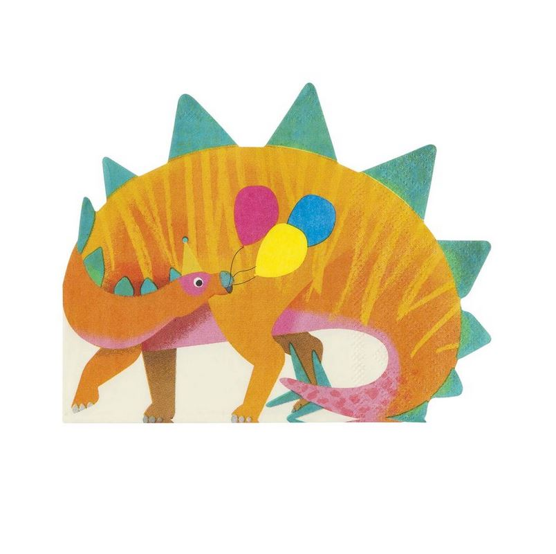 Party Dinosaurs Napkin (Sm) Tabletop Talking Tables