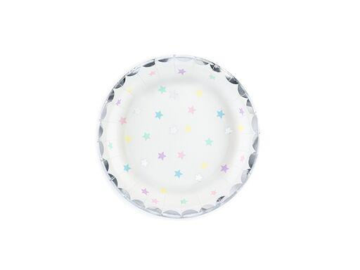 Pastel Star Plates (Sm) Tabletop Party Deco