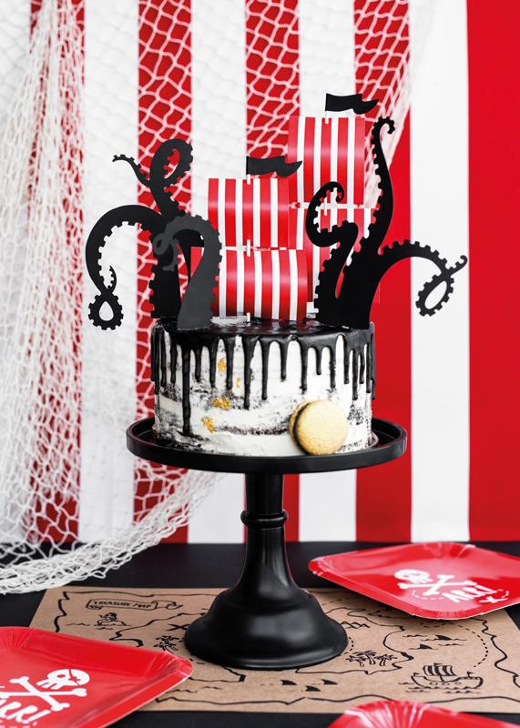 Pirate Party Cake Topper Cake & Cupcake Party Deco