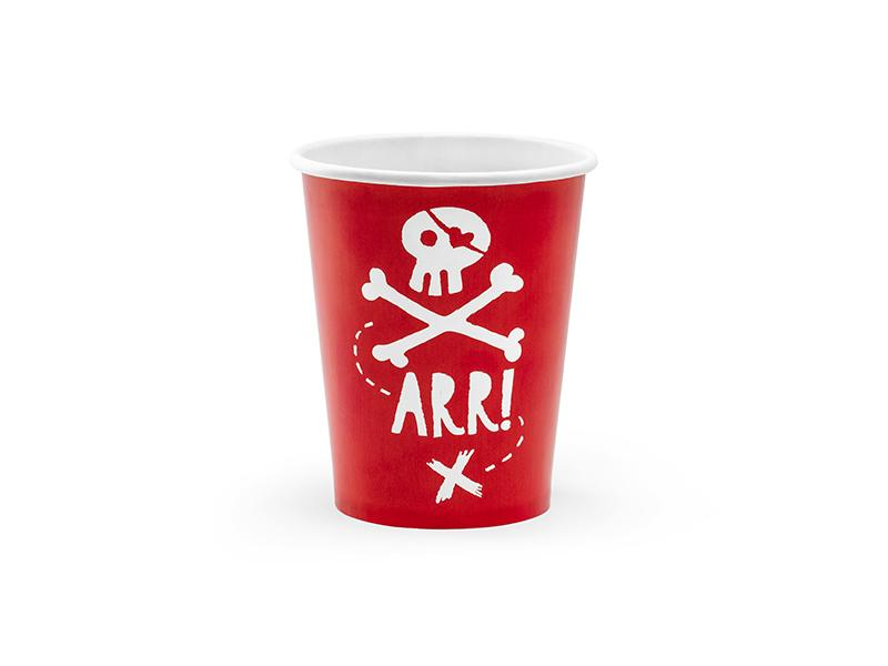 Pirate Party Cups Tabletop Party Deco