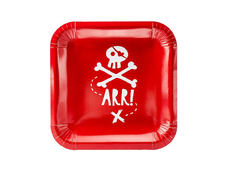 Pirate Party Plates (Sm) Tabletop Party Deco