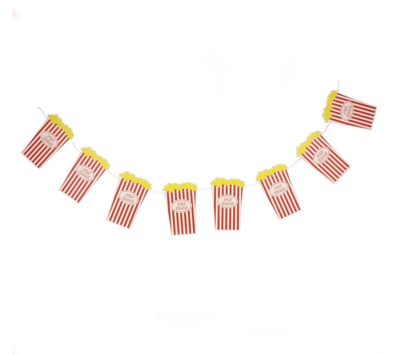 Popcorn Banner Decor My Mind's Eye