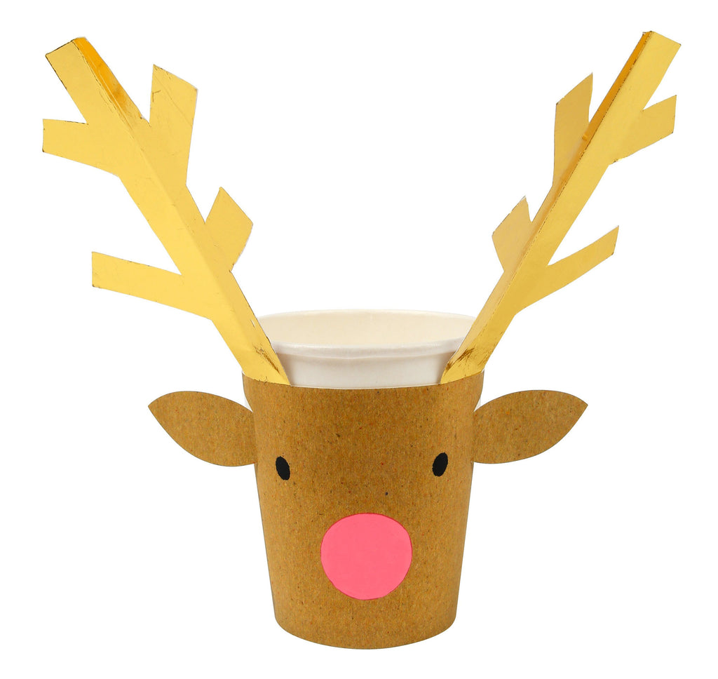 Reindeer Party Cups Tabletop Meri Meri