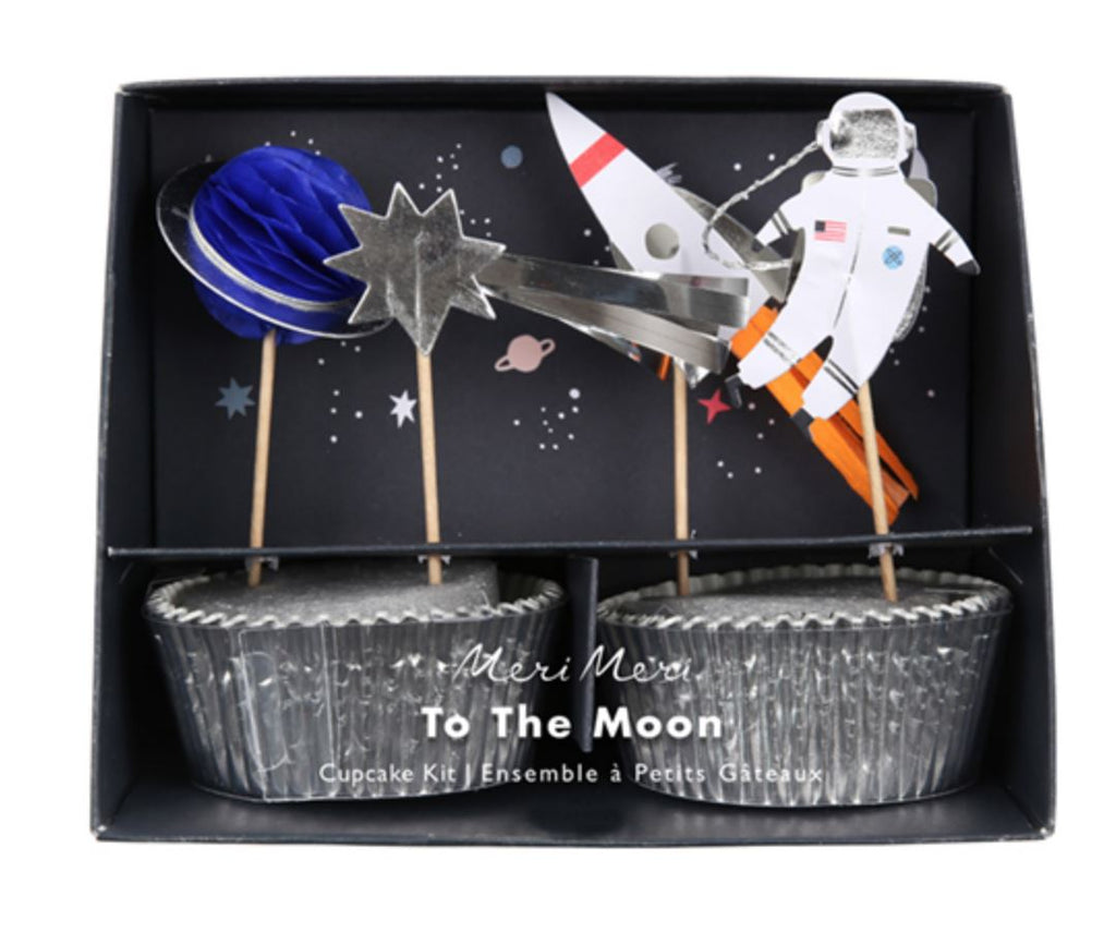 Space Cupcake Kit Decor Meri Meri