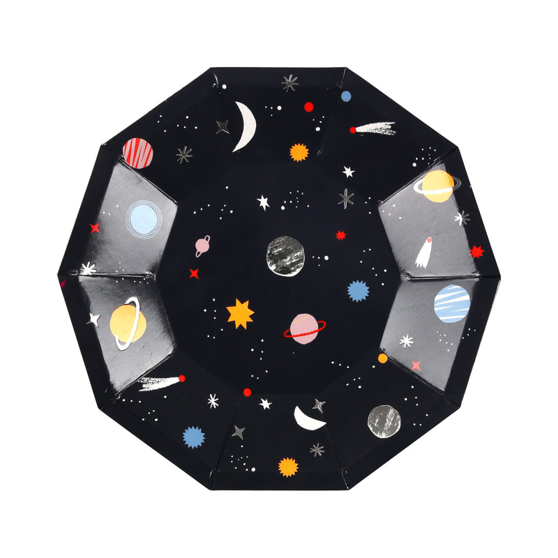 Space Plates (Sm) Tabletop Meri Meri