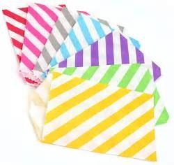 Striped Treat Bags Lou & Pepper Party Shop