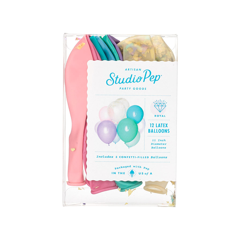 Studio Pep Classic Balloon Pack/Royal Balloons Studio Pep