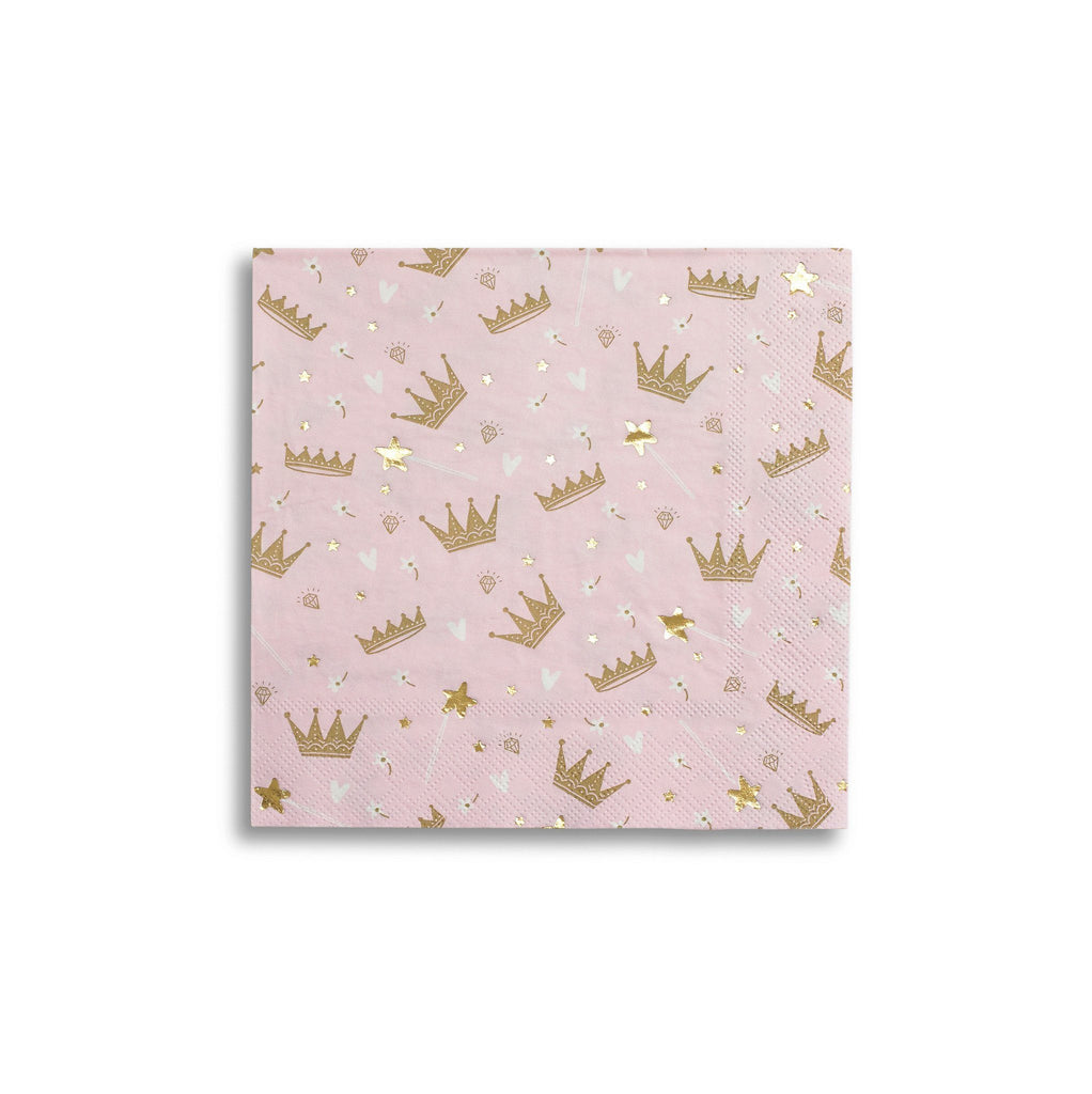 Sweet Princess Napkins (Lg) Tabletop Daydream Society