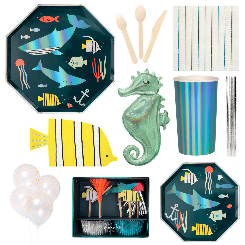 Under the Sea Party Set for 16 Party Set Lou & Pepper Party Shop