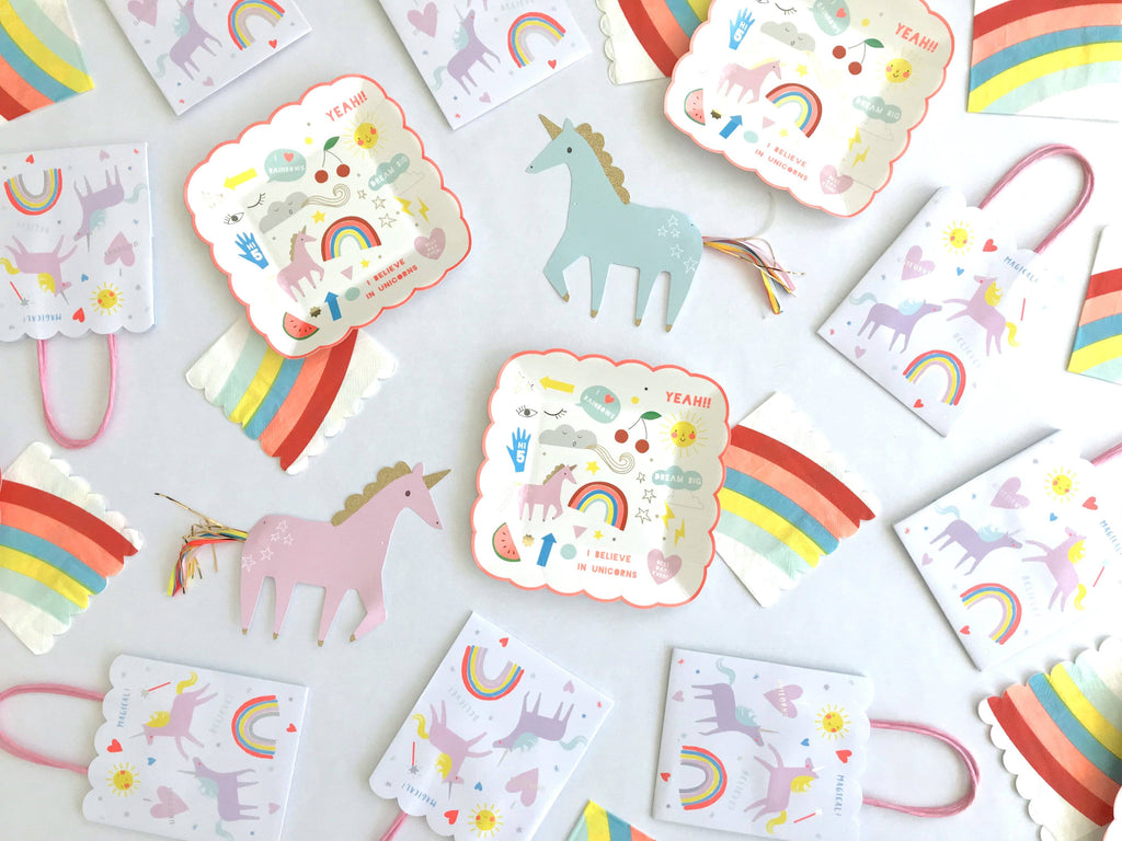 Unicorn Favor Bags Party Accessories & Favors Meri Meri