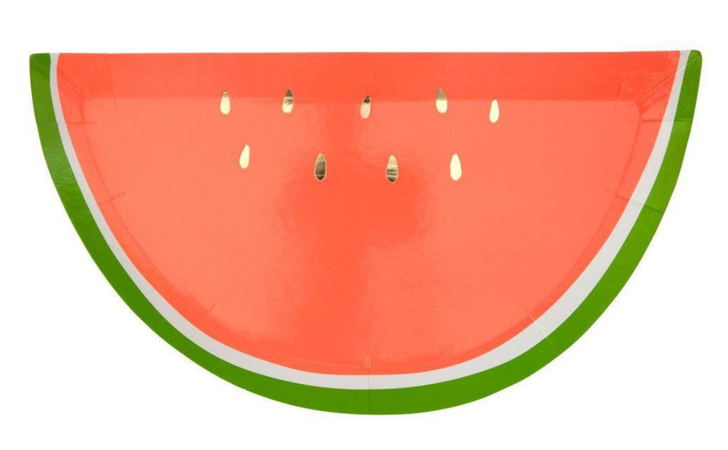 Watermelon Plates Tabletop Meri Meri