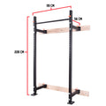Rack plegable de pared para sentadillas Dojo uruguay comprar online Crossfit Power lifting