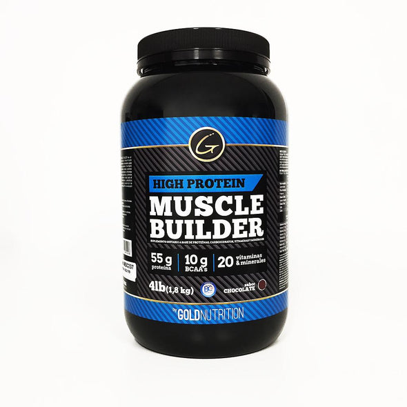 HIGH PROTEIN MUSCLE BUILDER / Proteina 4LB