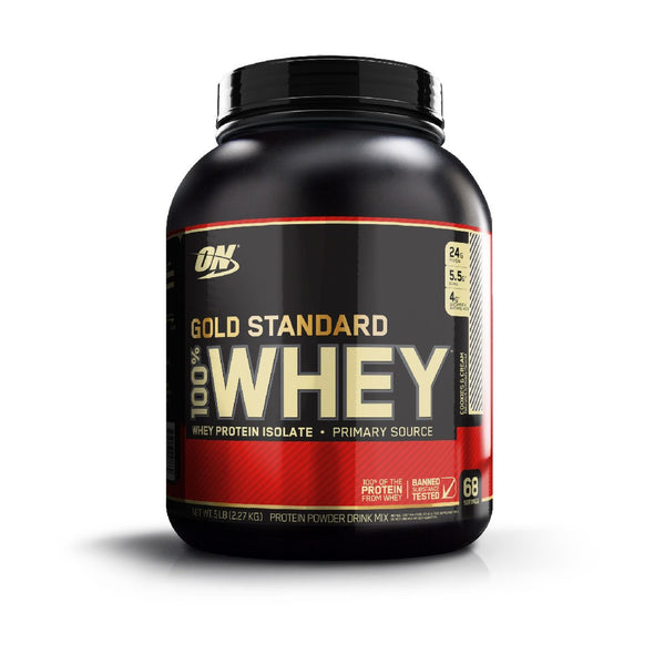 Whey Protein Optimum Nutrition / Proteina On Cookies Cream Uruguay Dojo
