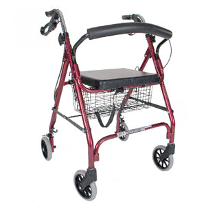 5314RD & 5314BK / Rollator with Curved Backrest