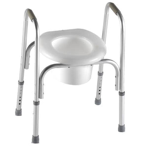 7007 / Raised Toilet Seat with Safety Frame