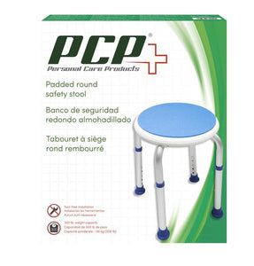 7101 / Padded Round Safety Stool