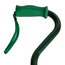 Soft Silicone Handle Offset Adjustable Cane