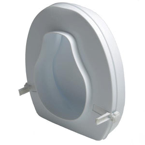 "7022 / 2"" Molded Raised Toilet Seat with Lid"