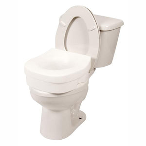 7013 / Contoured Molded Raised Toilet Seat