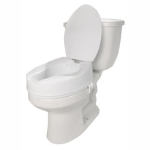 "7024 / 4"" Molded Raised Toilet Seat with Lid"
