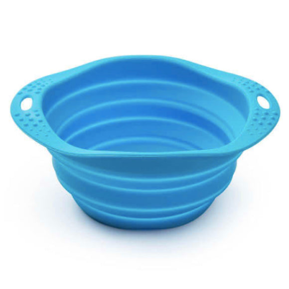 Collapsable Travel Food and Water Bowl